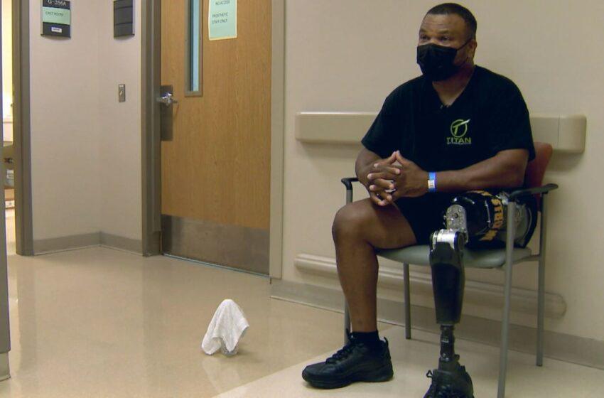 Army Vet Gets New Prosthetic