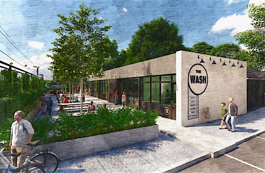 Former Carwash Now 6 New Restaurants